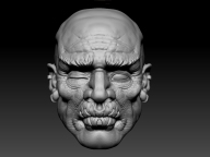 EB_SeveredHead_FinalSculptjpg