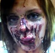 Hot British Girl Victim Domestic Violence